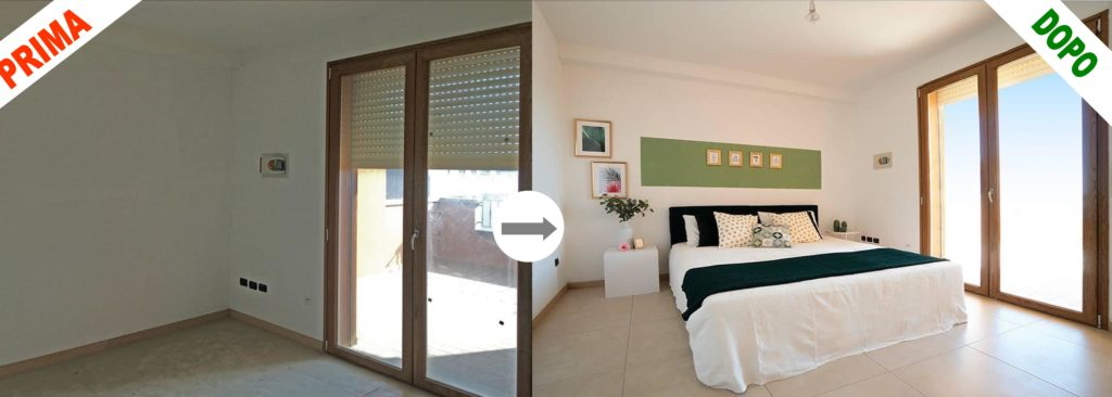 Prima e dopo camera da letto 1024x366 - COS'È L'HOME STAGING