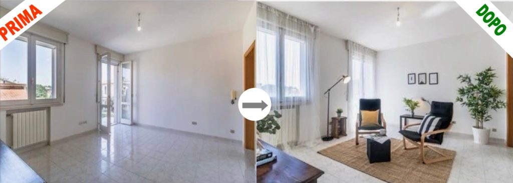 Salotto dopo home staging 1024x366 - COS'È L'HOME STAGING